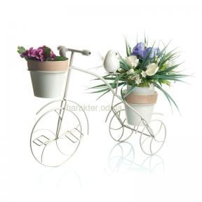 Велосипед- цветник 46см*17см*37см  Е7749 эм