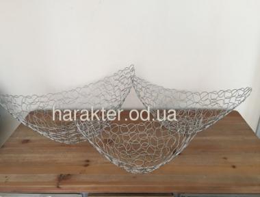 Фруктовница Човник металл Плетень XA10509S фд