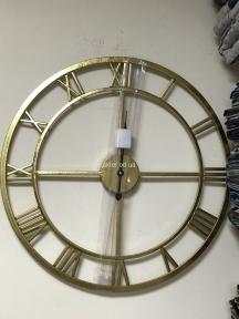 Годинник ФД4053 каркас золото метал 60 см