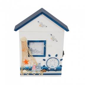 Ключница Морская синяя MA048