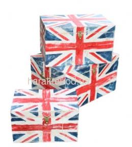 Сундук в английском стиле Union Jack ВВ SS002496