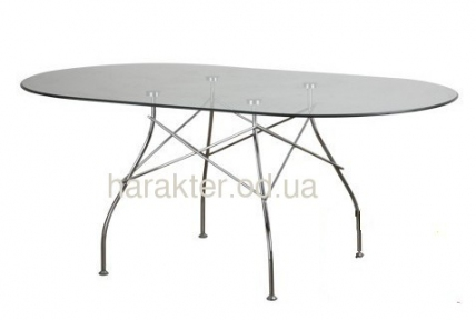 Стол обеденный Спайдер, прямоугольный (овал) мдс