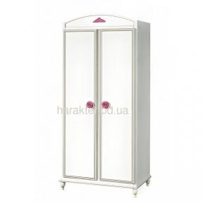 Шкаф для одежды в детскую комнату для девочки Фиерия