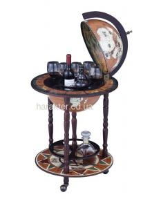 Глобус бар напольный на 3 ножках 450 мм 45001N-M гп