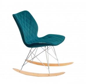 Стул, кресло-качалка NOLAN RACK кожзам или бархат ом
