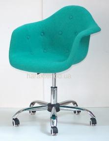 Кресло, Стул офисный  Leon Soft Office Шерсть (Таэур, Прайз) цвет желтый, зеленый, бирюза, синий