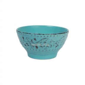 Плошка АНТИК голубая 15 см КС106919
