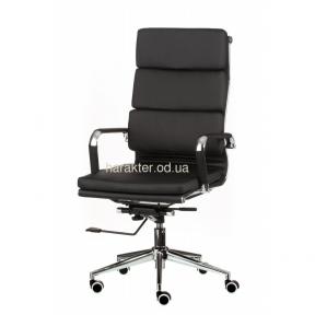 Кресло компьютерное, офисное Solano 2 (черный, бежевый, белый) тсп
