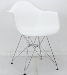 Кресло пластиковое LEON (Леон) CH-ML на металлических ножках (белый, антрацит, бежевый, серый, желтый) ом