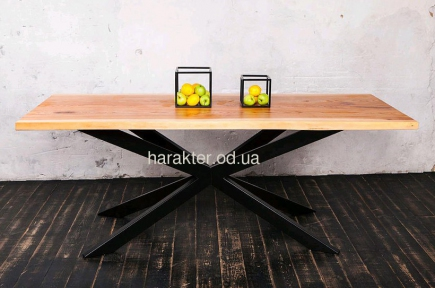 Стол в стиле Лофт из дерева ЦЕ IRON BIG
