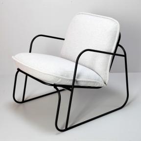 Кресло Монтэ дизайнерское, металл, текстиль в стиле Лофт