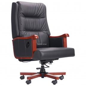 Кресло руководителя Benjamin Black, кожа