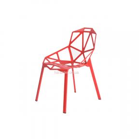 стул дизайнерский красный, черный, белый Chair one (с подушкой черной или без нее)