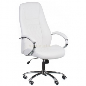 Кресло компьютерное, руководителя Alize white (E0406) тсп