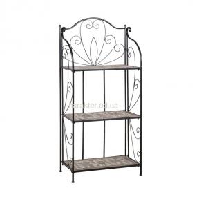 Стеллаж, этажерка прямая или угловая MOSAIC, металл, мозаика ввк