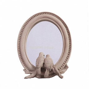 Зеркало овал Птички 19*5*24 см