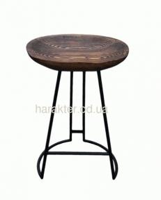 Дизайнерский стул барный, полубарный из массива дерева KOLO РТ