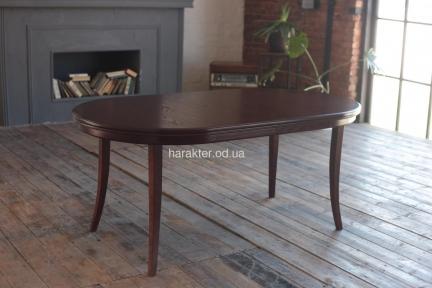 Стол деревянный Прованс овальный, раскладной рбк