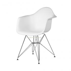 Кресло Eames (ножки металл) белый, черный, прозрачный (Тауэр, Прайз) са