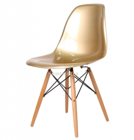 Стул Eames (Прайз, Тауэр), пластик цвета разные, поликарбонат (ножки деревянные) са