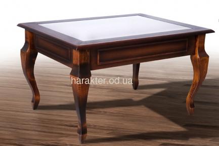 Стол журнальный Вега со стеклом или без стекла мм (ультра)