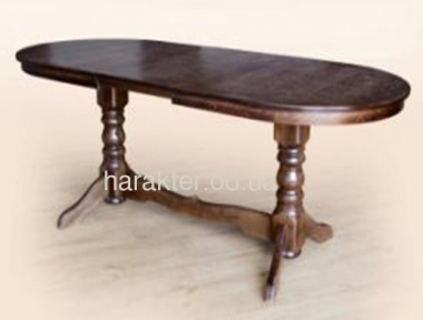 Стол раскладной Говерла-2, С стіл обідній Говерла-2 бук, темний горіх мм