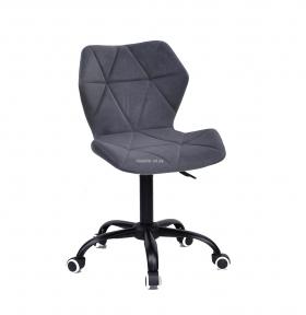 Стул офисный, компьютерный Торино (BK/СН Office) на черном основании (ВК) или хром, колеса