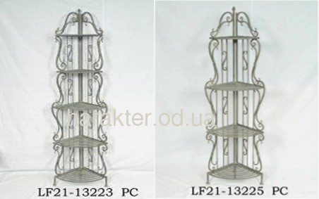 Етажертка кутова складна на 4 LF21-13225 або 5 LF21-13223 полички фд