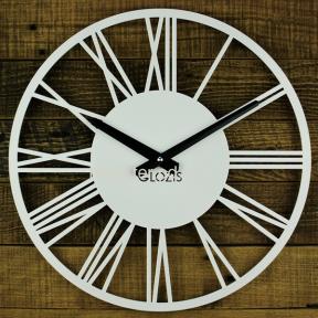 Настенные Часы Rome Black, White гз