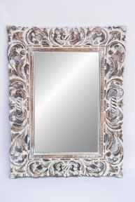 Зеркало в деревянной раме Ажур 80*60см 71440 ф.1, 2, 3