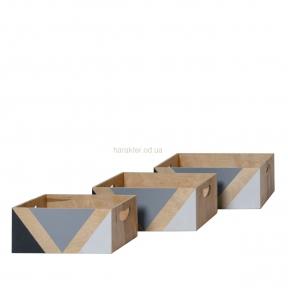 Декоративная коробка Осло 3 размера ВВ004454
