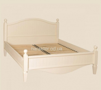 Деревянная кровать в стиле Прованс Шато РБК (с возможностью покраски по РАЛ)140/160/180