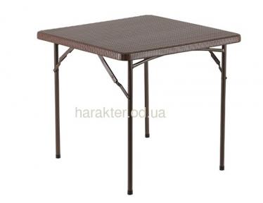 Складной стол PLTR - 8602 Ротанг Коричневый ом