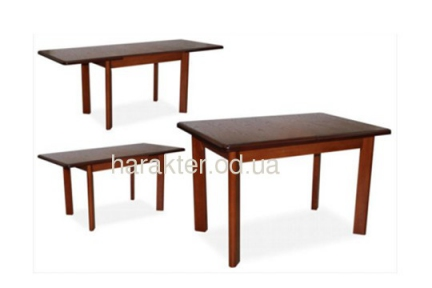 Стол обеденный ТИС-3 ольха 80х120(200) мхм