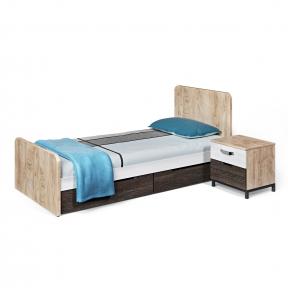 Кровать подростковая, Ліжко просте 900*2000 G-11-1 950*2050*900h