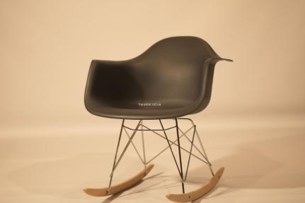 Кресло-качалка Leon (Леон) Rack пластиковое (белый, антрацит, бежевый, серый) ом