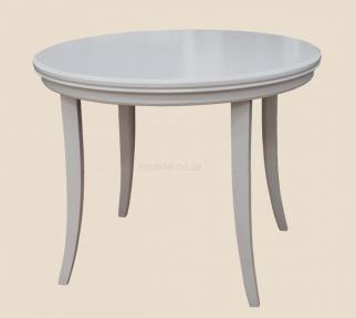 Стол деревянный Прованс круглый, раскладной с прямой или с козьей ногой рбк