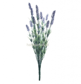 Лаванда ветка 62 см 15 цветков, 35 см 14 цветков, 34 см 7 цветков  К С