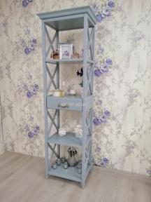 Стеллаж, этажерка в стиле Прованс РБК ПР-09 из ольхи или ясеня покраска в любой цвет