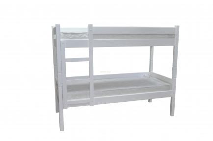 Кровать двухъярусная из сосны Л-306 шм
