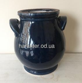 Кашпо керамічне сине 749539 фд
