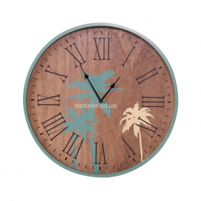 Деревянные часы МДФ, 40.5*40.5*3.2 (107594) кс