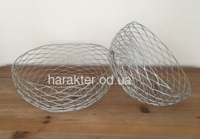 Фруктовниця Сіра метал Плетень XA11040 фд