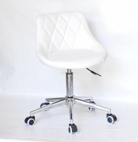 Стул офисный Форо основа на колесах хром или черный, сидушка кожзам
