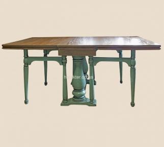 Обеденный стол-книжка в стиле Прованс, Классика РБК деревянный с покраской в любой цвет