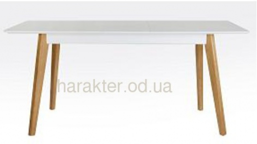 Стол раскладной, Стіл розкладний Сінгл (ясен) 130(+30)*80 мм