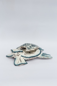 Декор морской Семья черепах мал., 20, 16, 13 см 24009 эм