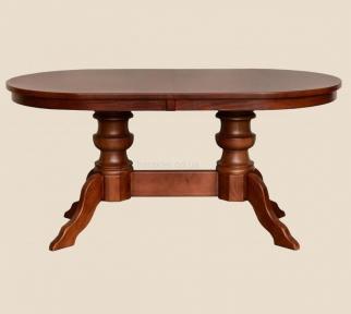 Стол деревянный Фантом овальный, раскладной рбк