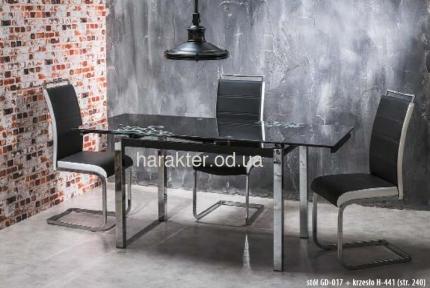 Стол стеклянный GD-017 сл