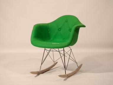Кресло-качалка Leon (Леон) Soft Rack Шерсть (желтый, серый, зеленый, бирюза, синий) ом